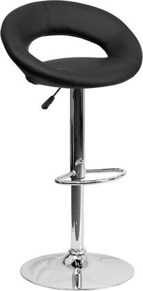Flash Furniture DS811BKGG Residential Vinyl Upholstered Bar Stool
