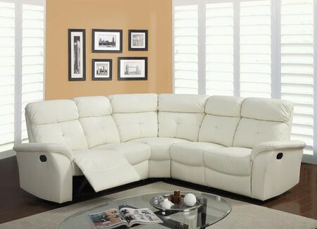 Acme Furniture 51650 Lawrence Series Stationary Bonded Leather Sofa