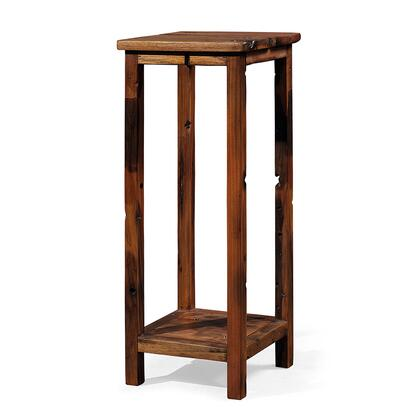 Argo Furniture DSJ01 Athos Series Wood Square None Drawers End Table