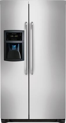 "Frigidaire FFSC2323LS 36"" Freestanding Side by Side Refrigerator"