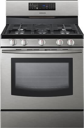 "Samsung Appliance FX510BGS 30"" Gas Freestanding"