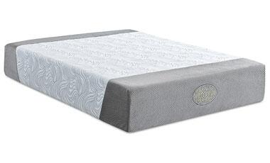 "Enso AFFINITY Hybrid Affinity 13"" Size PureGel Infused Memory Foam Mattress with 2"" Quick Recover Support Foam, 1"" HD Foam Support Base amd Foam Encased Border Edge"
