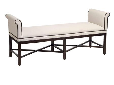 Stein World 12480 Mckenna Series Accent  Wood Fabric Bench