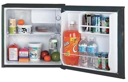 Equator REF65L17  Compact Refrigerator with 1.7 cu. ft. Capacity in Black