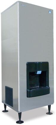 """Hoshizaki DKM500BxJ 30"""" Serenity Series Crescent Cube Ice Maker with 545 lbs. of Ice Production, 140 lbs. Storage Capacity, Stainless Steel Evaporator, and H-Guard Plus Antimicrobial Agent, in Stainless Steel"""