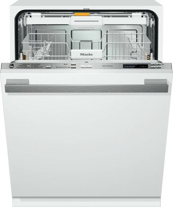 "Miele G6365 24"" Energy Star Qualified Futura Dimension Series Dishwasher with Fully Integrated Control Panel, 9 Wash Programs, 16 Place Settings, 3D Cutlery Tray and 44 dBA Quiet Rating:"