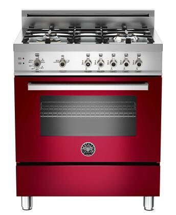 "Bertazzoni PRO304GASVI 30"" Professional Series Gas Freestanding"
