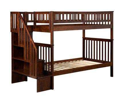 Atlantic Furniture AB56604  Twin Size Bunk Bed
