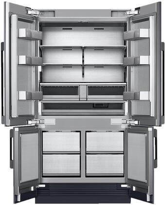 """Dacor DRF427500AP 42"""" Built-In 4 Door French Door Refrigerator Main Image"""