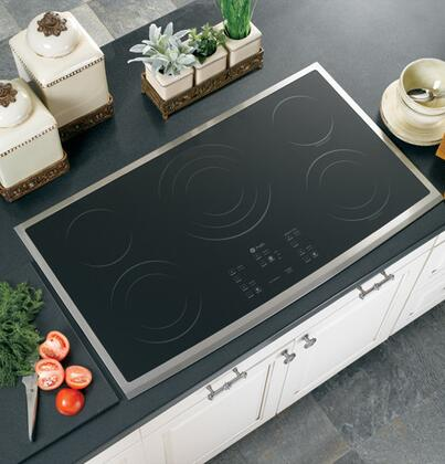 GE Profile PP975SMSS  Electric Cooktop