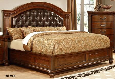 Furniture of America CM7735EKBED Grandom Series  King Size Bed