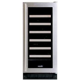"Marvel 30WCMBSGR 14.875"" Built-In Wine Cooler, in Stainless Steel Frame Glass Door"