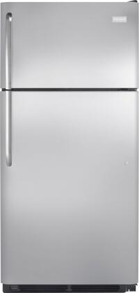Frigidaire FFHT1817PS Freestanding Top Freezer Refrigerator with 18.3 cu. ft. Total Capacity 2 Glass Shelves 4.1 cu. ft. Freezer Capacity |Appliances Connection