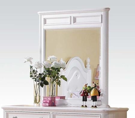 Acme Furniture 30010 Athena Series Rectangular Landscape Dresser Mirror