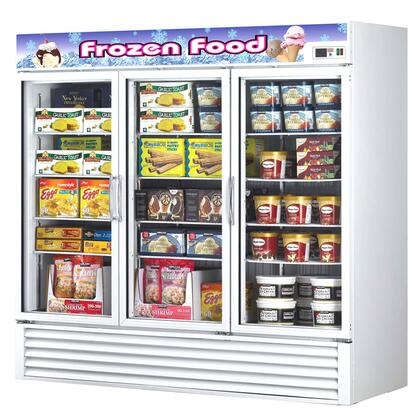 Turbo Air TGF72F  Commercial Display Freezer
