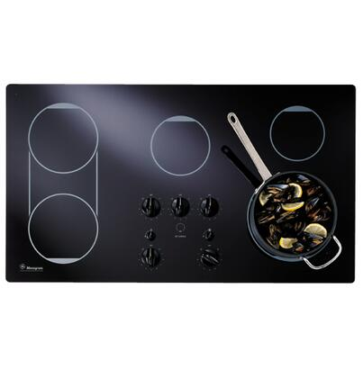 GE Monogram ZEU769BCBB  Electric Cooktop, in Black