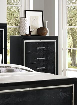 Myco Furniture LU730CH Luca Series Wood Chest