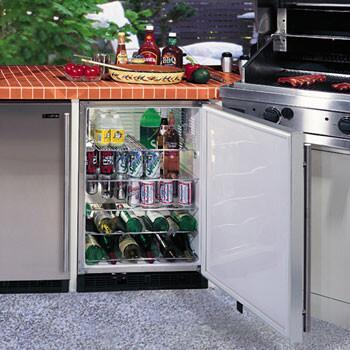 "Marvel 60BARSSF 23.875"" Built-In Wine Cooler, in Stainless Steel"