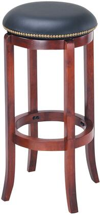 Acme Furniture 07199 Chelsea Series Residential Faux Leather Upholstered Bar Stool