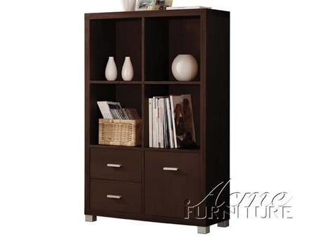 Acme Furniture 08307 Carmeno Series Cabinet 2 Drawers Cabinet