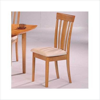 Coaster 4358 Davie Series Casual Fabric Wood Frame Dining Room Chair