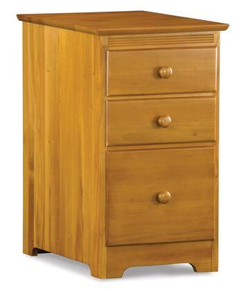 """Atlantic Furniture LEXINGTON3DFCCL 17""""  File Cabinet"""