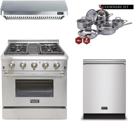Kucht 810586 Professional Kitchen Appliance Packages