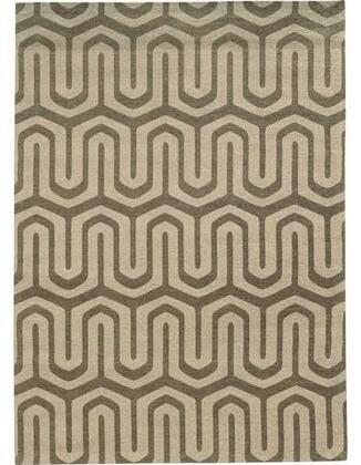 Powell 200R0086X Bombay Chenille Tapis Maze Grey