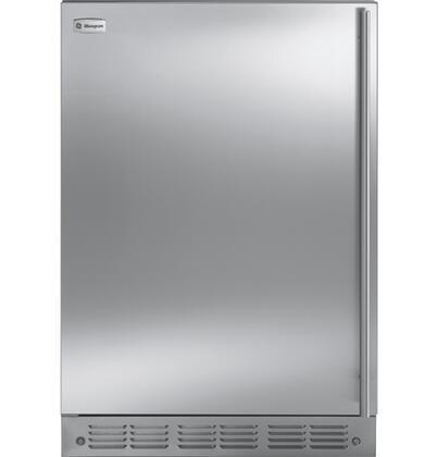 "GE Monogram Series ZIFS240P ADA Compliant 5.4 cu. ft. 23.75"" Fresh-Food Refrigerator Module with (X) Hinges, Flush Installation, Clear LEXAN Crisper in Stainless Steel"