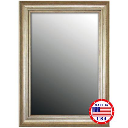 Hitchcock Butterfield 80720X 2nd Look Louis XIV French Silver Framed Wall Mirror