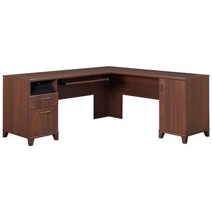 Bush Furniture PR67X10K Achieve Collection L-shaped Computer Desk With File Drawer