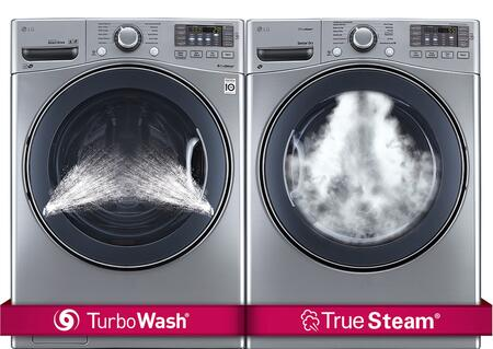 LG 551962 FrontLoad Washer and Dryer Combos
