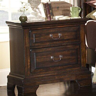American Woodcrafters 6100420  Rectangular Wood Night Stand