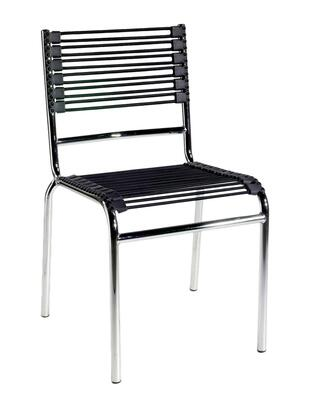 Euro Style 02660 Bungie Series  Metal Frame Accent Chair