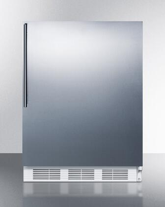"AccuCold VT65M7BISSHVADA 24""  Freezer with 3.5 cu. ft. Capacity in Stainless Steel"