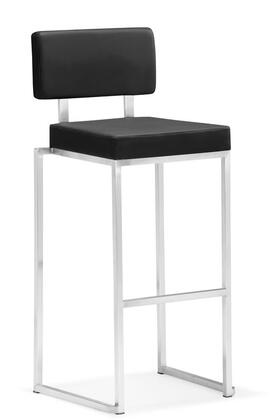 Zuo 300180 Decade Series Commercial Bar Stool