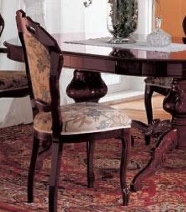 VIG Furniture VGFMREGINASCMAH Regina Series Transitional Fabric Wood Frame Dining Room Chair