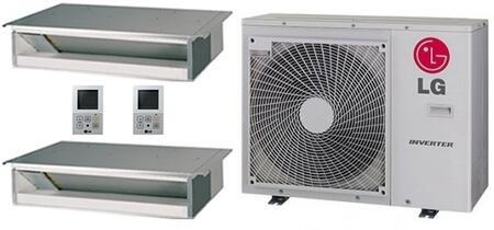 LG 704225 Dual-Zone Mini Split Air Conditioners