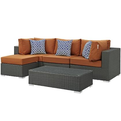 Modway EEI2385CHCTUSSET Rectangular Shape Patio Sets