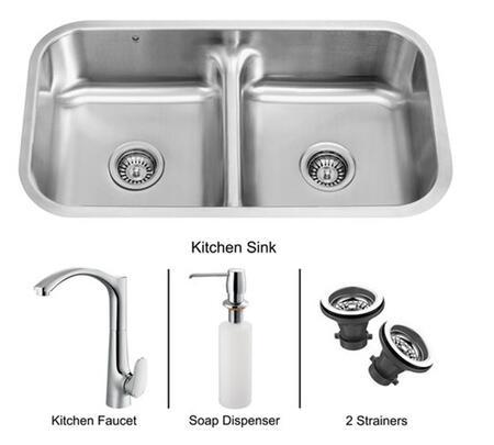 Vigo VG15082 Drop In Sink