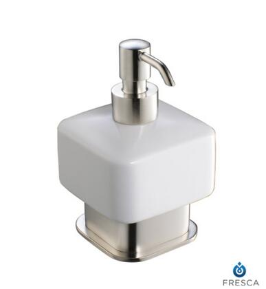 Fresca FAC1361 Free Standing Solido Lotion Dispenser with Heavy Duty Brass in