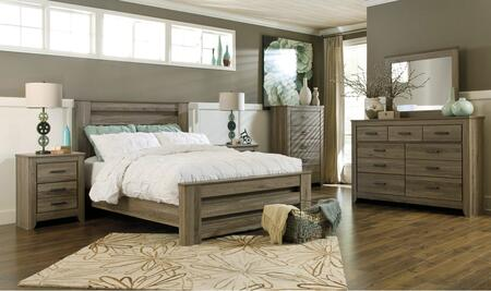 Signature Design by Ashley B248QPBDMN Zelen Queen Bedroom Se