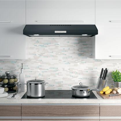 GE Profile Black Slate Shown in Stainless Steel