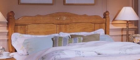 Carolina Furniture 2378503971900 Carolina Oak Series Queen