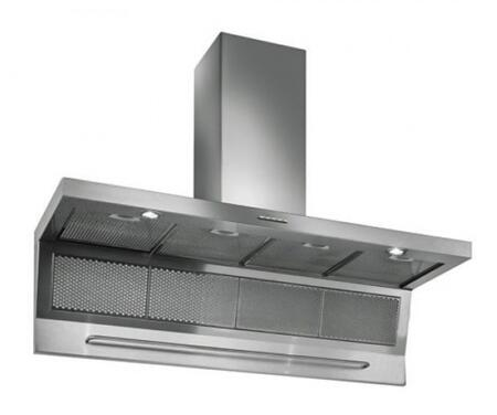 "Futuro Futuro WLxMAGNUS x"" Magnus Series Range Hood with 940 CFM, 4-Speed Electronic Controls, Delayed Shut-Off, Filter Cleaning Reminder, and in Stainless Steel"