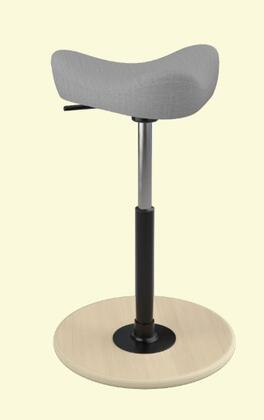 """Varier MOVE SMALL 2700 UMAMI 19"""" - 27"""" Sit-Stand Chair with Umami Upholstery"""