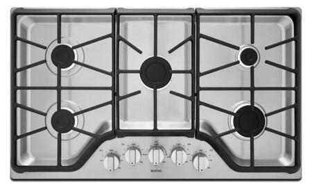 Maytag MGC7536DS  Gas Sealed Burner Style Cooktop, in Stainless Steel