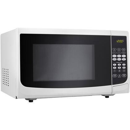 Danby DMW111K 1.1 cu. ft. Capacity Countertop Microwave Oven, 10 Power Levels, 1,000 Watts, LED Timer/Clock, Automatic Oven Light, Turntable:
