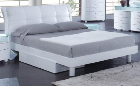 Global Furniture USA EVELYNWHFB Evelyn Series  Bed