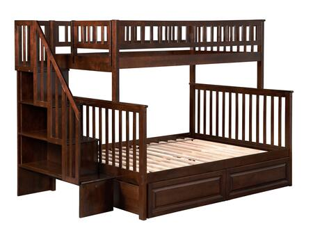 Atlantic Furniture AB56724  Twin Over Full Size Bunk Bed
